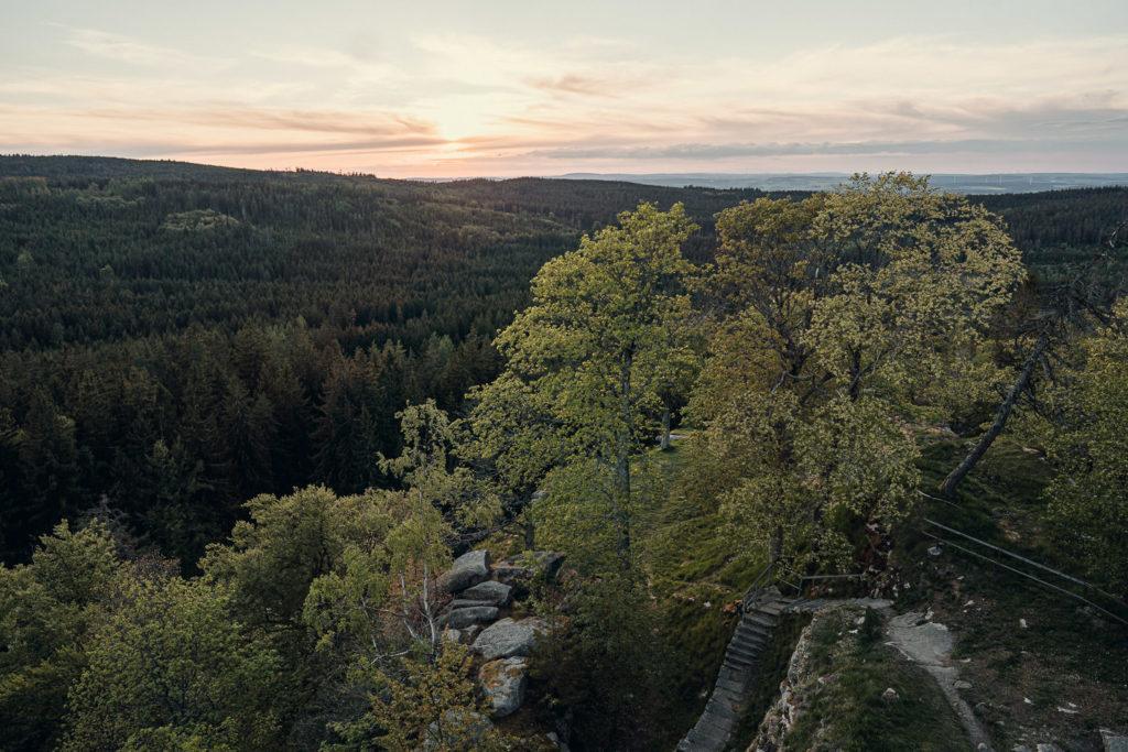 Aussicht von der Ruine Epprechtstein