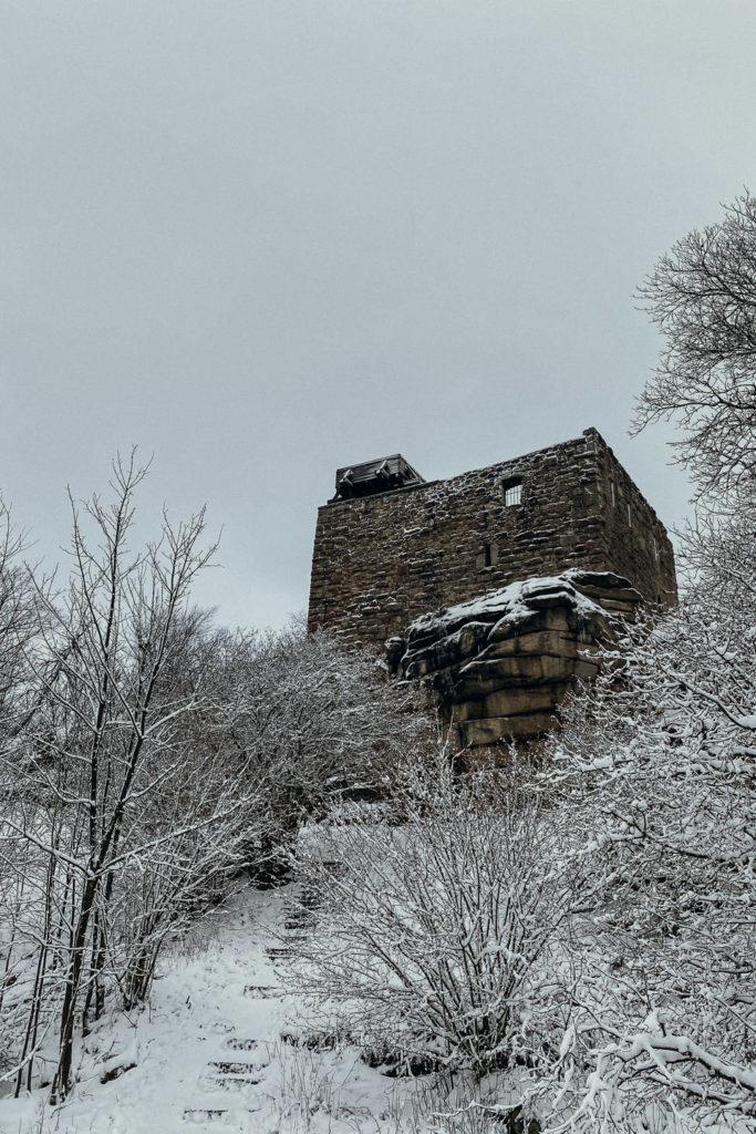 Burg Epprechtstein im Winter