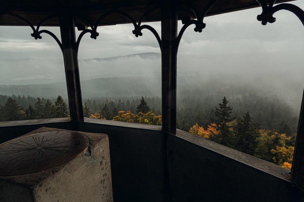Ausblick von der Schüssel des großen Waldsteins