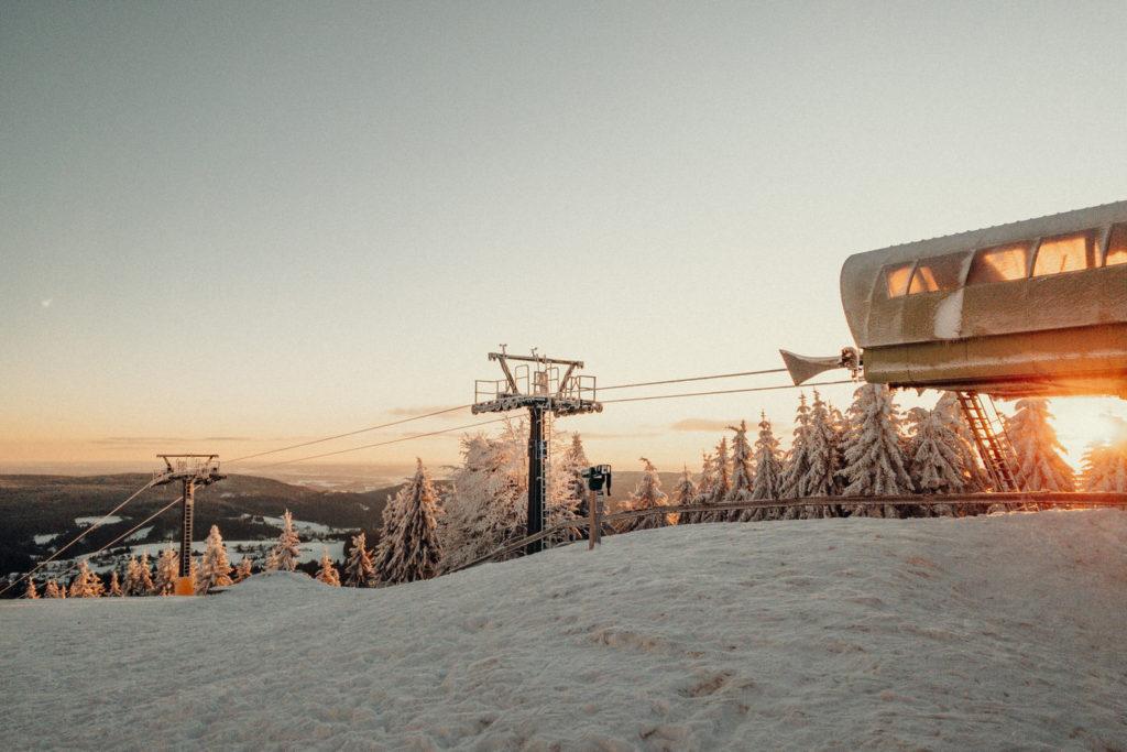 Der Ochsenkopf Skilift