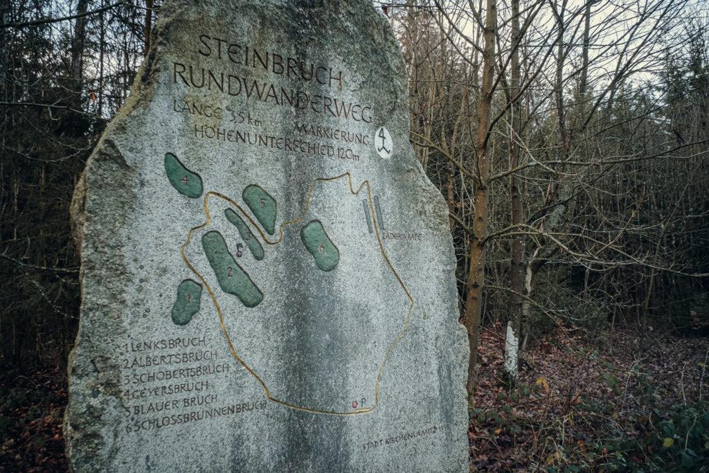 Steinbruch Wanderweg Epprechtstein