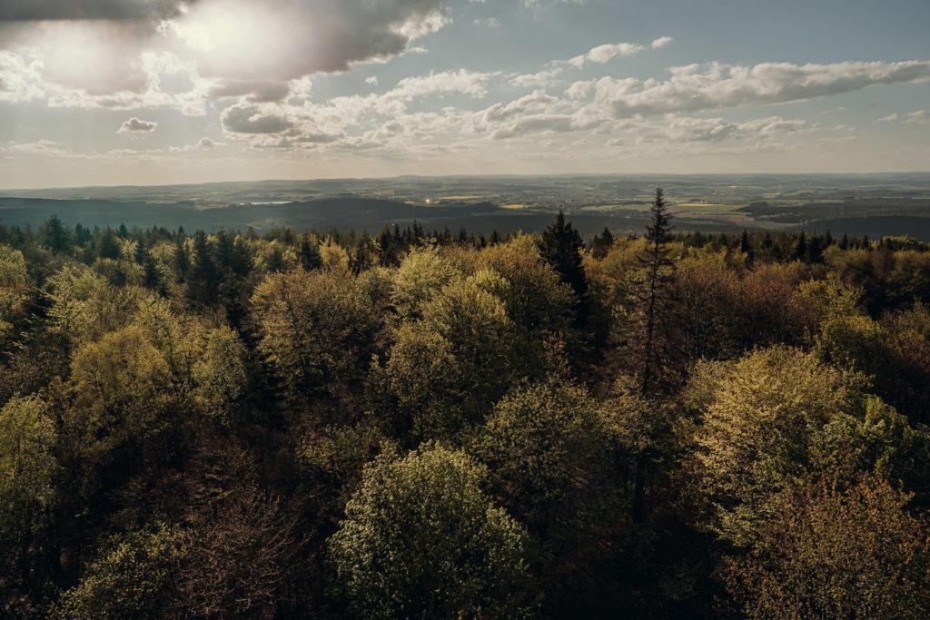 Ausblick vom Kornbergturm