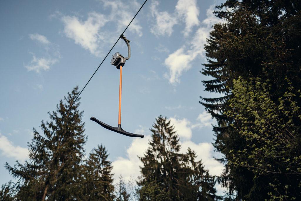 Beim Kornberglift handelt es sich um einen Schlepplift