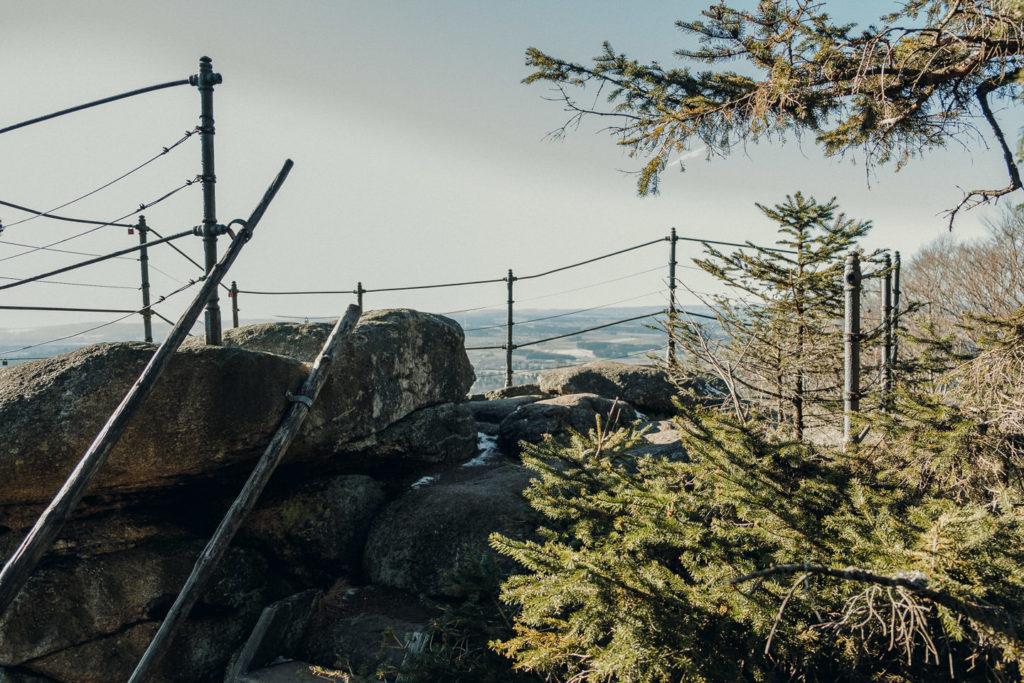 Auf dem Arnsteinfelsen beim großen Waldstein