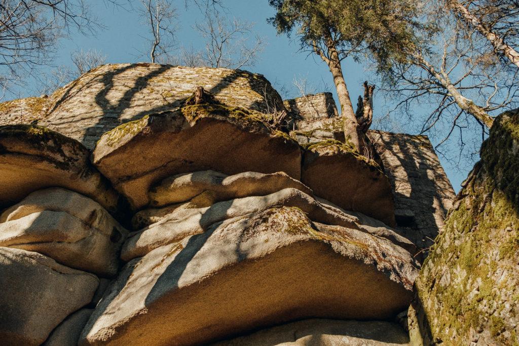 Burgruine auf dem Waldstein