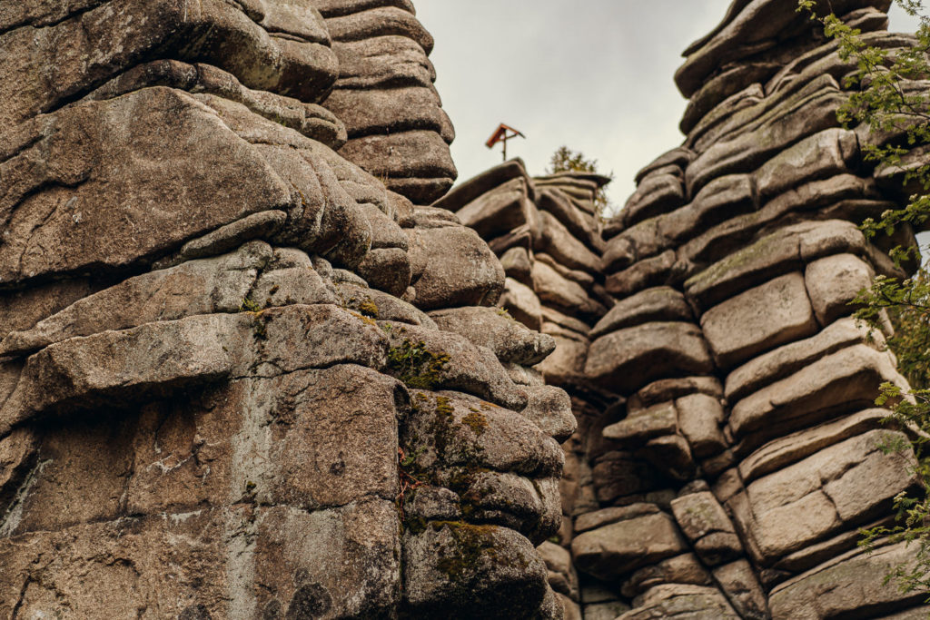 Drei Brüder-Felsen im Fichtelgebirge