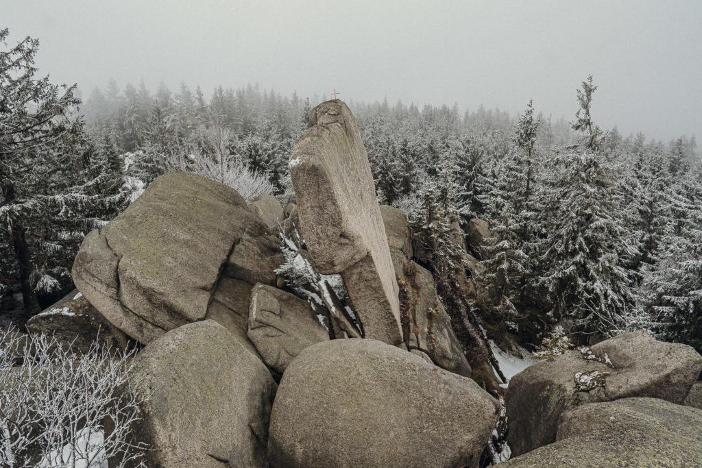 Ausblick von der Aussichtsplattform auf dem Nußhardt