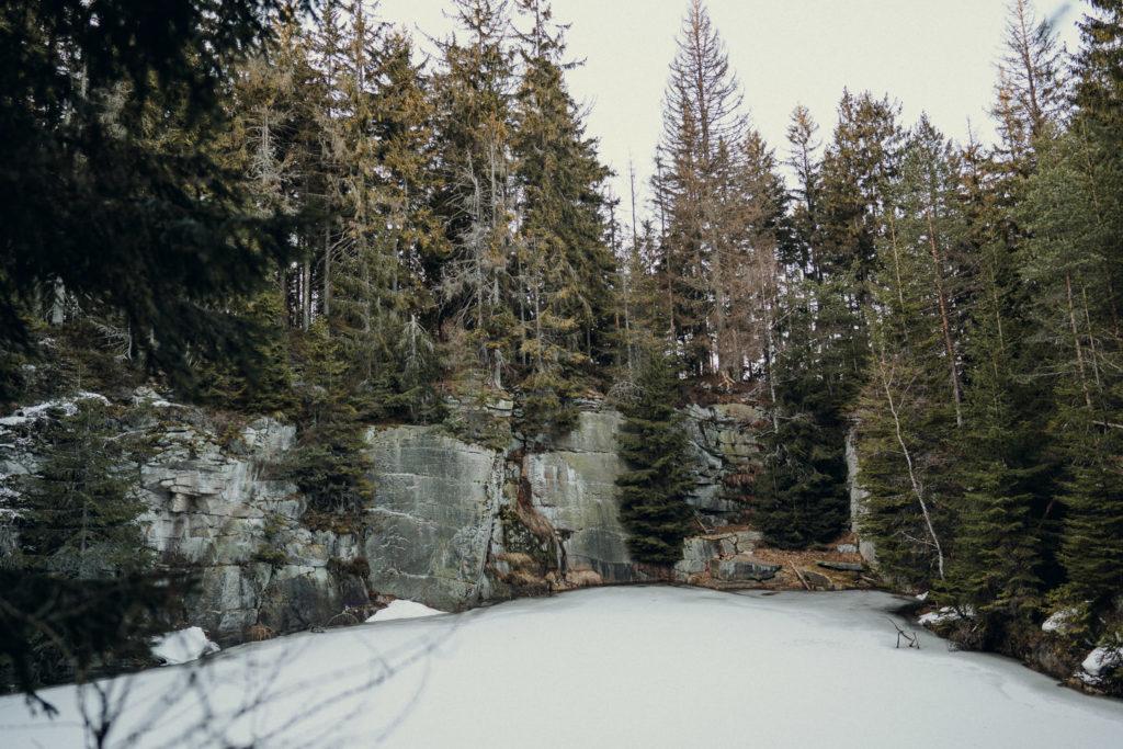 Steinbruch am Rudolfstein