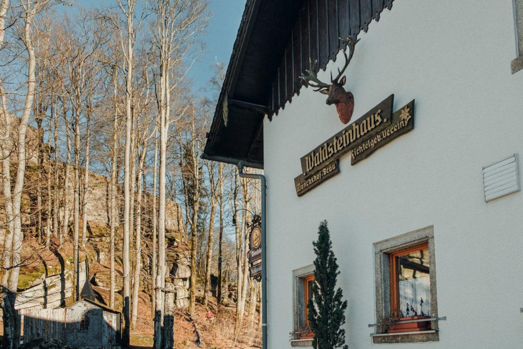 Die Gaststätte am Waldstein