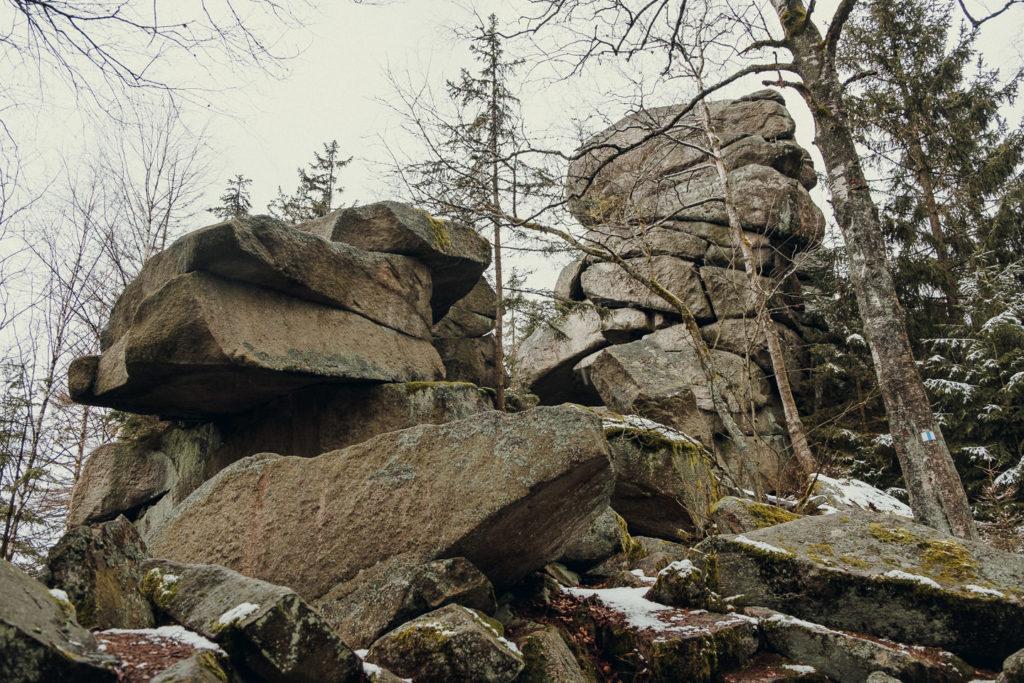 Die letzten Meter zum Haberstein