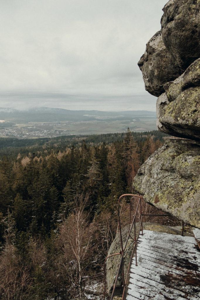 Aussicht vom großen Haberstein