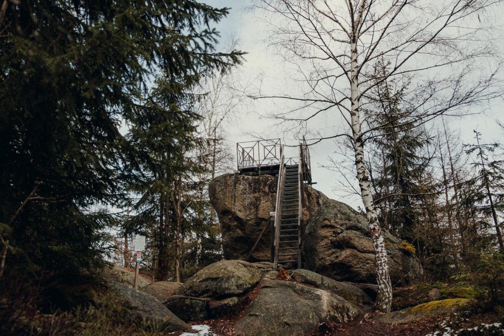 Der Kaiserfelsem am fränkischen Gebirgsweg